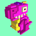 Voxel Pets Run Race icon