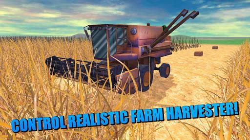 Farm Hay Harvester Simulator