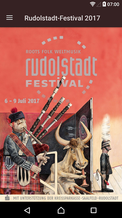 Rudolstadt Festival- screenshot