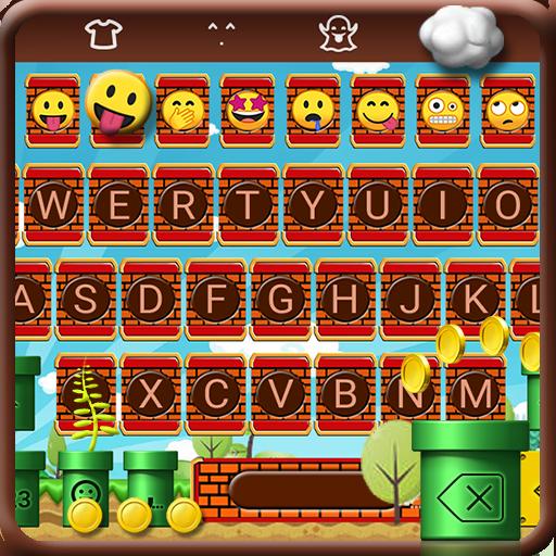 Super Run Emoji Keyboard