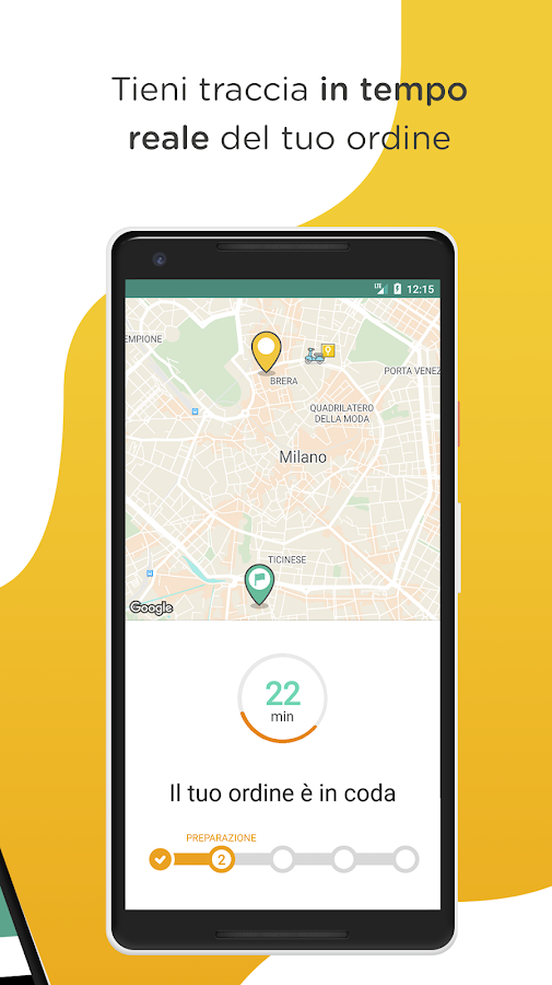 Glovo: la tua città a domicilio- screenshot