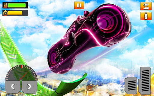 Light Bike Stunt : Motor Bike Racing Games 1.0 app download 6
