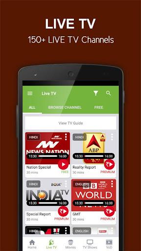 nexGTv SD Live TV on Mobile 2.8 screenshots 2