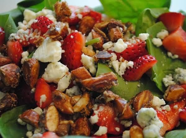 Summer's Best Strawberry Salad Recipe