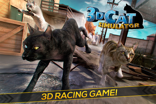 3D Cat Simulator Game For Free