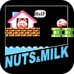 Nuts & Milk Icon