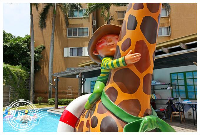 花蓮翰品酒店戶外泳池