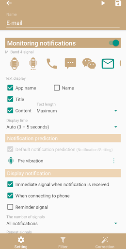 Mi Bandage for Mi Band and Amazfit 4.7.8 screenshots 5