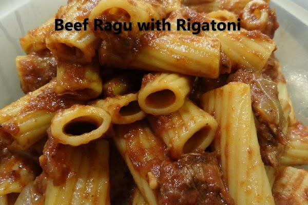 Beef Ragu With Rigatoni Recipe