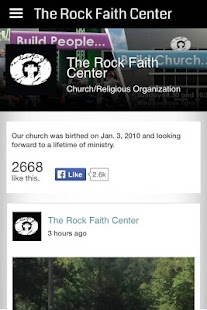 The Rock Faith Center- screenshot thumbnail