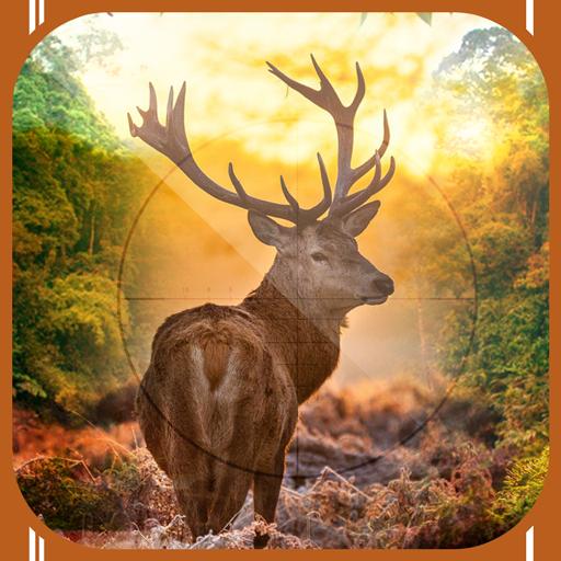 动作の鹿スナイパー狩猟3D LOGO-記事Game