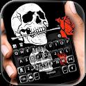 Skull Rose Keyboard Theme icon