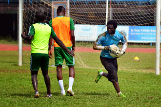 Photo: Solomon Zombo Morris  [Leone Stars Training Camp, in advance of Equatorial Guinea game, Sept 2013 (Pic: Darren McKinstry)]