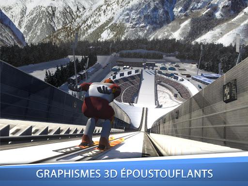 Ski Jumping Pro  captures d'u00e9cran 1