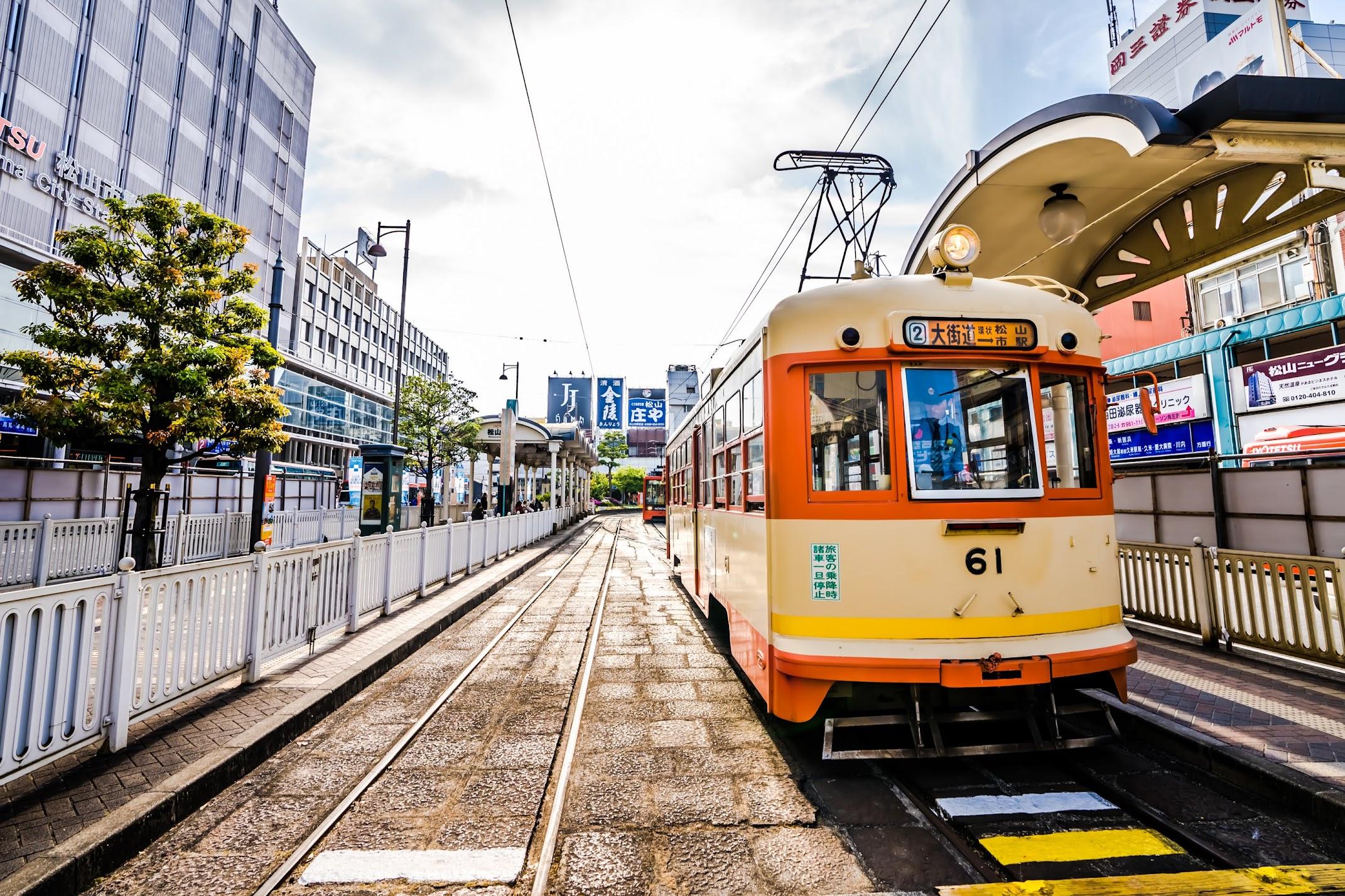 Matsuyama tram1