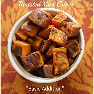 Roasted Yam Cubes