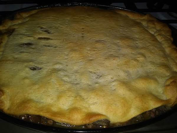 Savory Pie Ready To Eat!