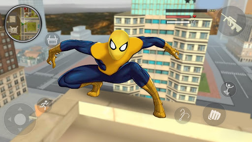 Spider Rope Gangster Hero Vegas screenshot 5