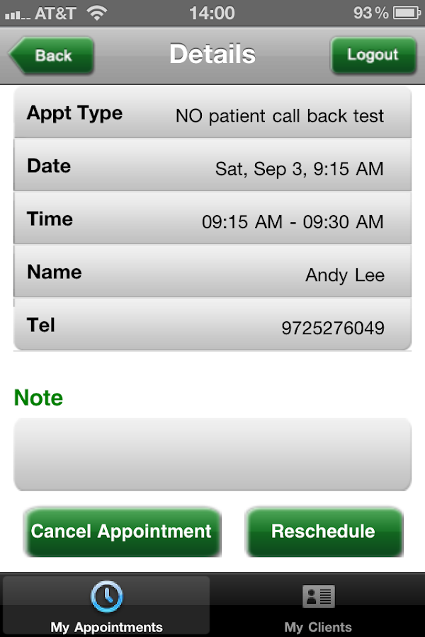 Doctor's Messenger- screenshot