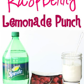 Raspberry Lemonade Punch Recipe!