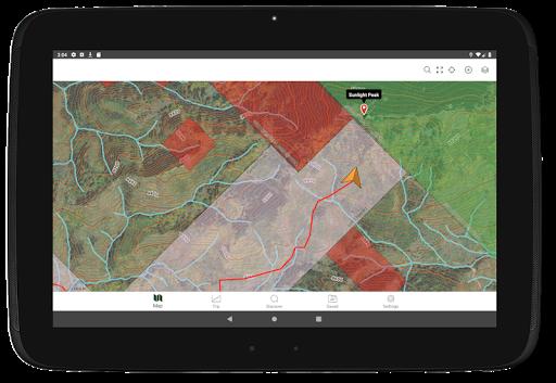 Gaia GPS: Hiking, Hunting Maps screenshot 9
