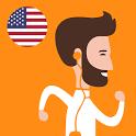Учим американский - Слова Бегом icon