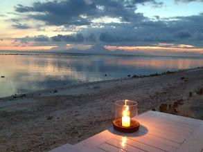 Photo: Sunset on Gili Trawangan Island, Bali.