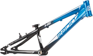Radio Helium  BMX  Race Frame - Black / Cyan alternate image 1