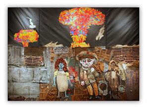Photo: Antonio Berni El mundo prometido a Juanito Laguna 1962. 280 × 400 cm. Colección Ministerio de Relaciones Exteriores y Culto, Argentina. Expo: Antonio Berni. Juanito y Ramona (MALBA 2014-2015)
