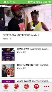 KeduTV - náhled