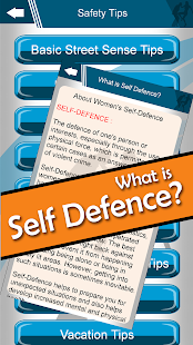 Perfect Self Defence app 8