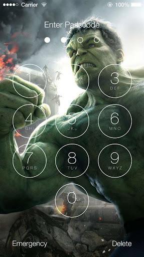 Avengers: Age of Ultron Lock Screen 1.4 screenshots 3
