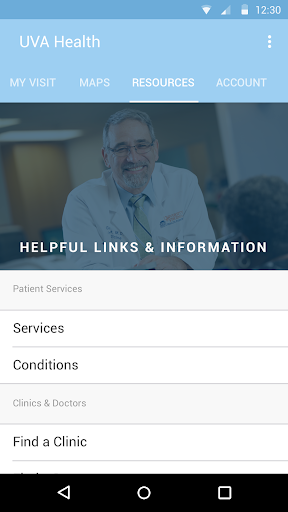 (APK) لوڈ، اتارنا Android/PC/Windows کے لئے مفت ڈاؤن لوڈ ایپس UVA Health screenshot