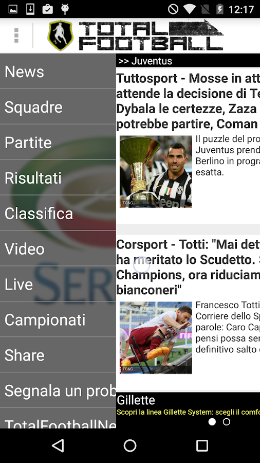 Total Football News- screenshot