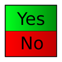 Yes/No icon