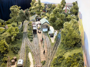 Photo: 009 A view of Bottle Kiln Lane looking from the Kiln end of the layout .