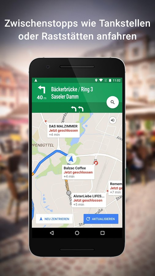 Maps – Navigation, Bus & Bahn – Screenshot