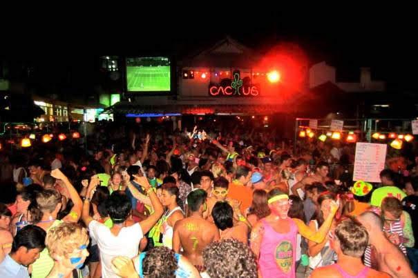 Party on Gili Trawangan
