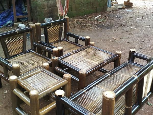 420 Gambar Kursi Dari Bambu HD Terbaru
