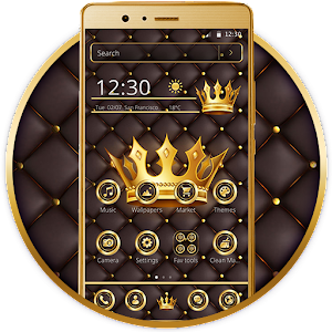 Luxury Gold King Theme