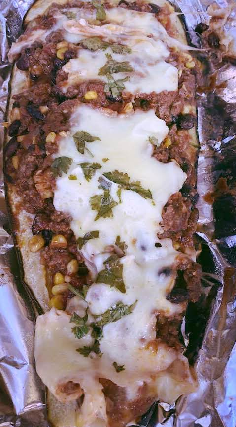 Tex Mex Zucchini Boats Recipe