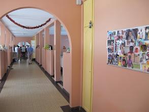 Photo: Sn3S0024-Dakar Pouponnière, nursery, couloir central avec chambrées de chaque côté IMG_1353