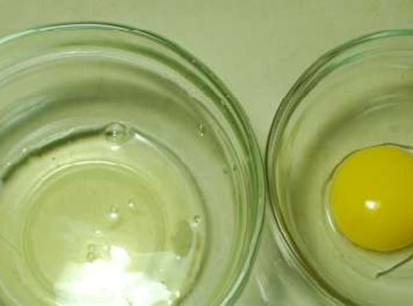 Separate the eggs, putting the yolks and whites in different mixing bowls. In another...