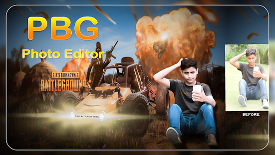 Download PBG Game Photo Editor For PC Windows and Mac apk screenshot 1