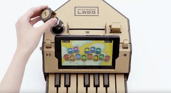 任天堂が発表した、親子で楽しめる「Nintendo Labo(ニンテンドーラボ)」がすごい!と同時にダンボール工作の可能性を感じた話