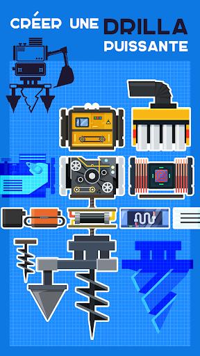 Drilla u2014 crafting game  captures d'u00e9cran 2