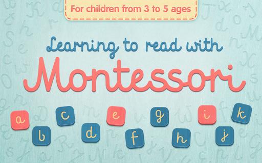 Montessori: Kids Reading App