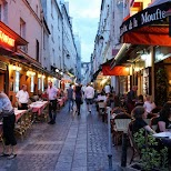 most cozy street in Paris: Rue de Pot de Fer in Paris, Paris - Ile-de-France, France