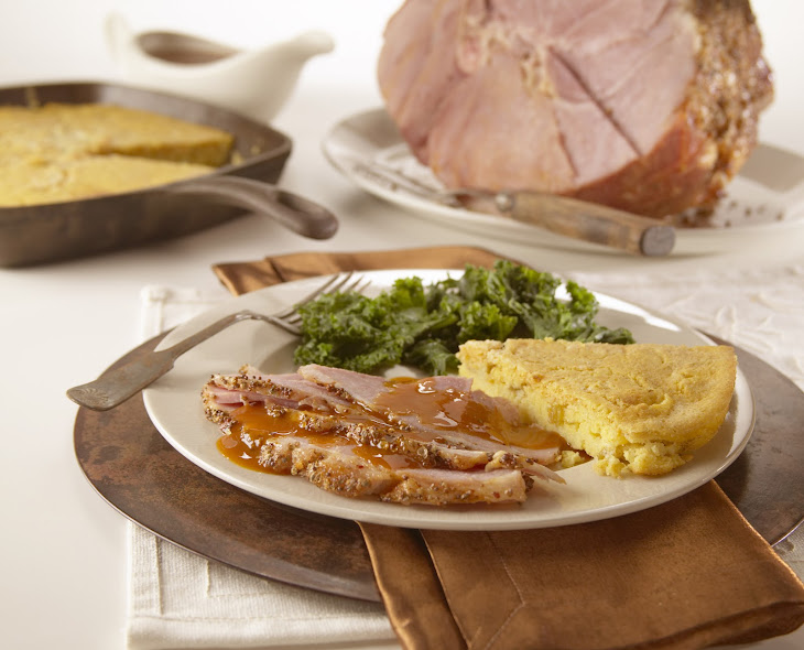 Creole Baked Ham with Cane Syrup Sauce Recipe