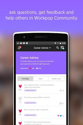 Job Search by Workpop Screenshot